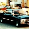 shanaqui: A 1967 Chevrolet Impala, from Supernatural. ((Impala) Back in black)