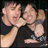 kisahawklin: Shannon gives Tomo a noogie! (RP: 30stm shan/tomo goofballs)