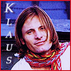 kisahawklin: Oh Viggo. You're too happy to be Klaus, I think. (VG Klaus happy)