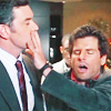 kisahawklin: Shawn's hand is on Lassiter's mouth, yeah it is. (Psych: shawn/lassiter hush)