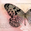 revolutions: (butterfly)