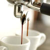 domtheknight: espresso machine brewing into little white mugs (Default)