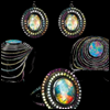 skywardprodigal: opal and black-gold solange azugury partridge parure (bling-sap opalfruit)
