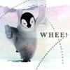 rosabelle: happy penguin (misc - penguin whee)