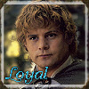 beccastareyes: Image of Sam from LotR. Text: loyal (loyal)