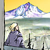 layla: Woman looking down into a valley (RC-Jemer TPB2)