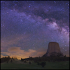 tenaya: photo by Wally Pacholka @ Astropics.com (devil's tower)