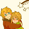 baroqueangel: ([Hetalia] Happy hug)