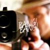nemonclature: Raylan pointing a gun at the camera, text: bang bang (Raylan gun)