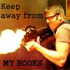 ancientcitadel: (SG-1 - Daniel - Keep Away From My Books)