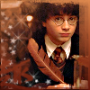 kerravonsen: Harry Potter writing with quill (Harry)
