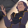 "talibusorabat: An animated older woman giving a ""wtf?"" shrug (Avatar: Korra da fuck?)"