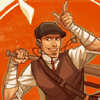 scoot: 1920's Scout ([tf2 scout] hey there)