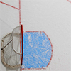 healingmirth: empty hockey net (ice, hockey)