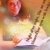 littlelotte: (Lindsay reading)