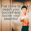 tmbreck: No collection is complete without Swashbuckler Sulu (swash buckles and buckle swashes)