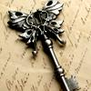 kiyala: the end of an ornamental key (STOCK - key)