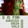 msgaila_toyou: But she's a whole lot more than that! (Gorgeous Green Gaila)