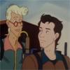 peoriapeoriawhereart: cartoon men (Egon and Peter)