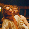 alchemy: Finn Jones and Gethin Anthony as Loras and Renly in Game of Thrones ([got] Tired of my motor runnin'.)