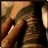 "highlander_ii: Tom Creo's right arm with rings of tattoos from ""The Fountain"" ([TomC] tattoos - rt arm)"