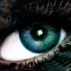 cydling: beautiful blue-green eye (eye - looking in)