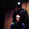 "darkangelazure: (The Joker/Batman (""The Dark Knight""))"
