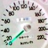 narrativian: speedometer dial of stationary car (...going nowhere fast)
