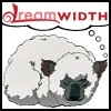 kaberett: A sleeping koalasheep (Avatar: the Last Airbender), with the dreamwidth logo above. (dreamkoalasheep)