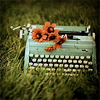 vanessabrooks: (Typewriter with Flower)