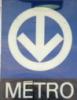 etb: Montreal métro sign (montreal métro)