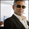 bookblather: George Clooney in a suit and sunglasses, looking at the camera. (Christopher Hennessy : George Clooney)