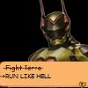 ultimacanon: (Run like hell)
