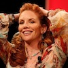 bookblather: Melissa Gilbert pulling her hair back and smiling. (in the heart : cecily : melissa gilbert)