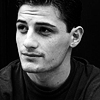 bookblather: Enver Gjokaj in black and white smiling camera left. (in the heart : felipe : enver gjokaj)