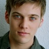bookblather: Jake Abel smiling at the camera. (in the heart : billy : jake abel)
