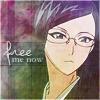 "veleda_k: Nanao from Bleach. Text says, ""Free me now."" (Bleach: Nanao)"