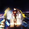 pinksocks: (Iron Man strut)