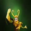 pinksocks: (EMH Loki)