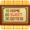 av8rmike: 10 HOME; 20 SWEET; 30 GOTO 10 (home sweet goto)