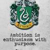 lyktemenn: (Slytherin | ambition enthusiasm)
