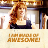 "kinirokitsune: Donna with caption:""Maed of Awesome"" (Made of Awesome)"