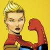 nykeyoung: The new Captain Marvel, formerly Ms. Marvel. (can't hear you --too awesome, captain marvel, ms. marvel)