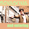 yubsie: (Eleven sonicking and entering)