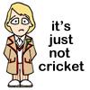 vilakins: (dr who cricket)