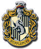 kshandra: Hufflepuff House's coat of arms from the Harry Potter films. (Hufflepuff)