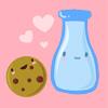 solitaryjane: ~ made by lon_gina (Milk & Cookies)