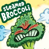 highlyeccentric: Steamed broccoli - an image of an angry broccoli floret (steamed)