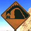 highlyeccentric: road sign: car eaten by monster (pic#320259)
