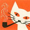 lenija: (Katze raucht)